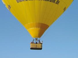 Romantische Ballonfahrt für Zwei in Augsburg