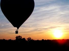 Romantische Ballonfahrt für Zwei mit Dinner in Ulm