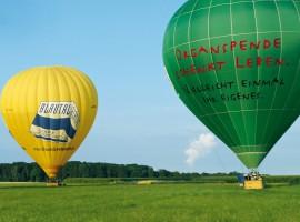 Ballonfahren Augsburg-Oberhausen
