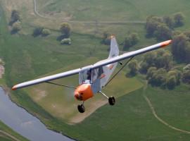 30 Min. Buschflugzeug Rundflug Taucha