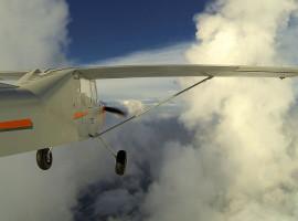 60 Min. Buschflugzeug Rundflug Taucha