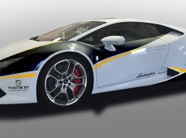 2 Runden Renntaxi Lamborghini Huracan auf dem Spreewaldring