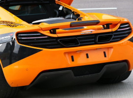 2 Runden Renntaxi McLaren MP4-12C auf dem Eurospeedway Lausitz