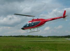 Hubschrauber Nachtflug für 4 Pers. ab Flugplatz Arnstadt-Alkersleben