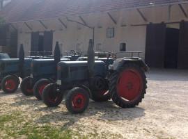 2 Std. Oldtimertrecker selber fahren in Hohenwart, Bayern
