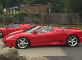 30 Min. Ferrari 360 Spider selber fahren in Dresden