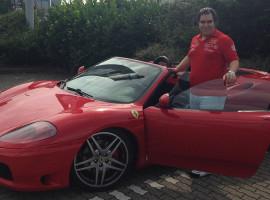 30 Min. Ferrari 360 Spider selber fahren in Düsseldorf