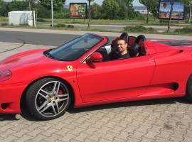 30 Min. Ferrari 360 Spider selber fahren in Erfurt