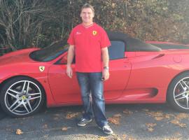 30 Min. Ferrari 360 Spider selber fahren in Frankfurt