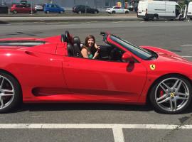 30 Min. Ferrari 360 Spider selber fahren in Hof