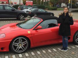 30 Min. Ferrari 360 Spider selber fahren in München