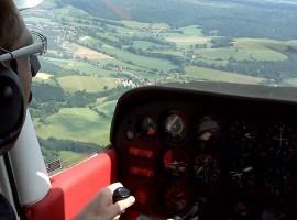 30 Min. Flugzeug Rundflug Chemnitz