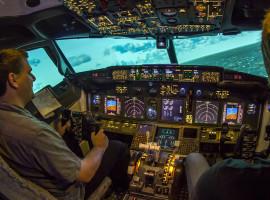 30 Min. Full Flight Flugsimulator Boeing 737 Berlin