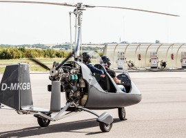 30 Min. Tragschrauber Rundflug in Wallerfangen, Raum Saarbrücken