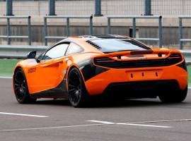4 Runden Renntaxi McLaren auf dem Spreewaldring