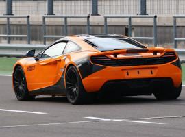 4 Runden Renntaxi McLaren MP4-12C auf dem Eurospeedway Lausitz