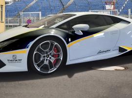 6 Runden Lamborghini Huracan selber fahren auf dem Spreewaldring