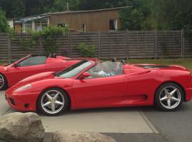60 Min. Ferrari 360 Spider selber fahren in Düsseldorf