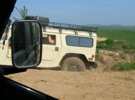 90 Min. Hummer H1 offroad fahren in Knüllwald
