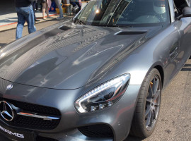 4 Runden Renntaxi Mercedes AMG GTS auf dem Spa-Francorchamps