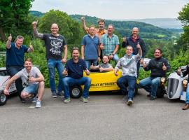 """1 Std. Hot Rod Tour """"Abendfahrt zu Klenkes Runde"""" in Aachen"""