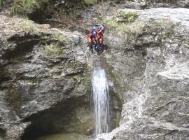 Canyoningtour in Abtenau, Österreich