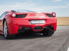 8 Std. Ferrari 458 Italia mieten in Arnstein