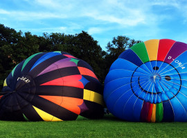 Romantische Ballonfahrt für Zwei Aschersleben