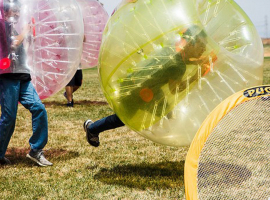 Bubble Soccer in Horb