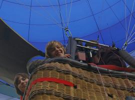 Ballonfahren in Grefrath-Niershorst, Raum Düsseldorf in NRW