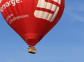 Ballonfahren in Kamp-Lintfort - Flugplatz, Raum Moers in NRW