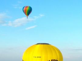 Ballonfahren Leer