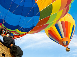 Ballonfahren in Münsingen