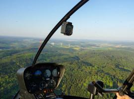30 Min. Hubschrauber Pärchen Rundflug ab Flugplatz Eisenach-Kindel