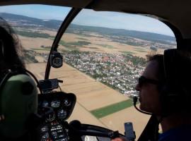 20 Min. Hubschrauber Privatrundflug ab Flugplatz Koblenz-Winningen