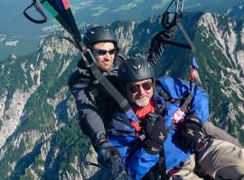 Gleitschirm Tandemflug in Bergen im Chiemgau