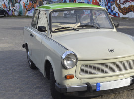 4 Std. Trabant Stadtrundfahrt in Berlin
