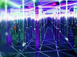 Spiegellabyrinth in Berlin