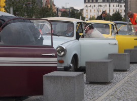 2 Std. Trabant fahren in Berlin
