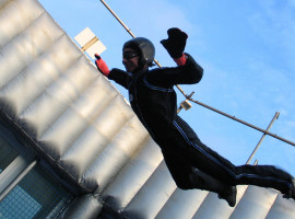 Bodyflying (1 Flugeinheit) in Hückelhoven, Raum Aachen in NRW