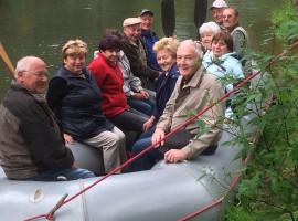 Schlauchboot Tour auf der Spree Boxberg