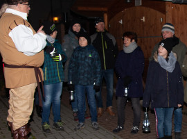 Geistertour in Burg