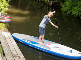 Stand Up Paddling in Burg