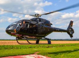 30 Min. Turbinen Hubschrauber selber fliegen ab Kassel-Calden