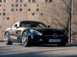 72 Std. Mercedes AMG GT mieten in Darmstadt-Stadtmitte