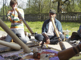 Didgeridoo-Tages-Workshop in Frankfurt am Main, Hessen