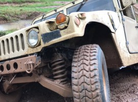 60 Min. Hummer H1 offroad fahren in Dolle