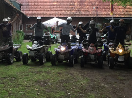 1 Std. Quad Tour in Dolle