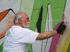 Graffiti Workshop in Dortmund-Hafen