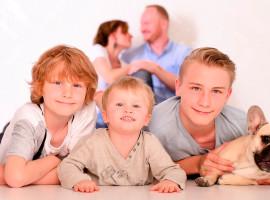 Familien Fotoshooting in Leipzig-Wahren